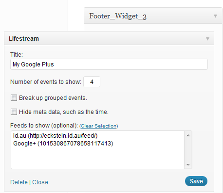 Show your Google Plus stream in WordPress