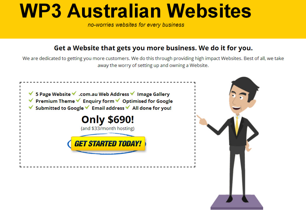 Website designer and developer in Australia
