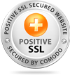 Website secured with SSL