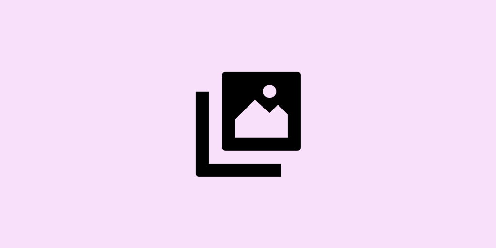 Image on pink background